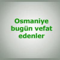 osmaniye cenaze sorgula