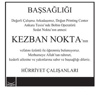 KEZBAN NOKTA