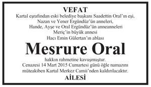 MESRURE ORAL