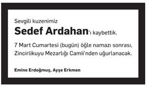 SEDEF ARDAHAN
