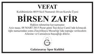 BİRSEN ZAFİR
