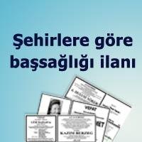 başsağlığı ilan sayfaları