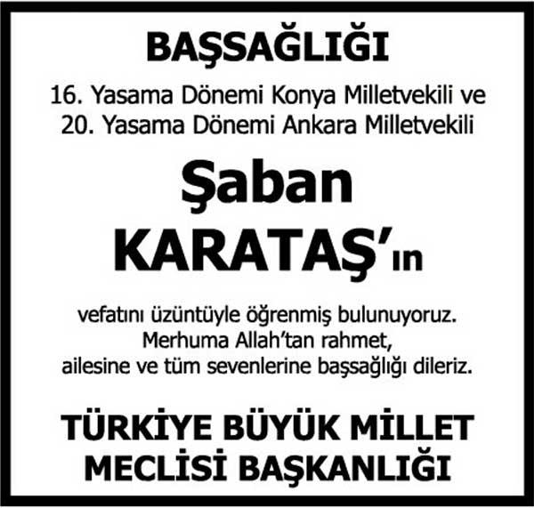 ŞABAN KARATAŞ