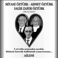 Miyase Öztürk, Ahmet Öztürk, Salih Zafer Öztürk