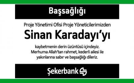 Sinan Karadayı Hürriyet Gazetesi Başsağlığı İlanı