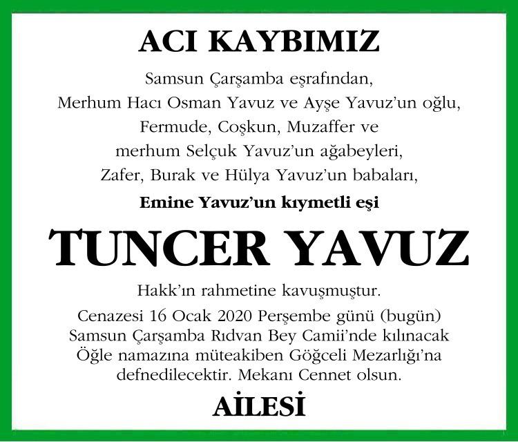 Tuncer Yavuz l Emekli Muhasebeci