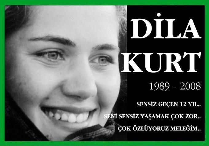 Dila Kurt 1989 - 2008 SENSİZ GEÇEN 12 YIL.. SENİ SENSİZ YAŞAMAK ÇOK ZOR.. ÇOK ÖZLÜYORUZ MELEĞİM..